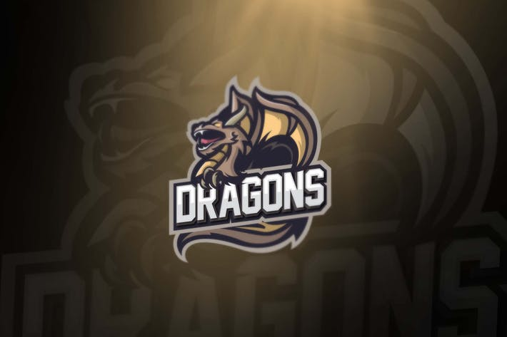 Thumbnail for Dragon sports and esport logos
