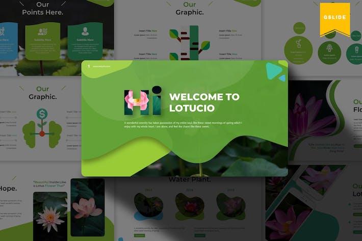 Lotucio | Google Slides Template