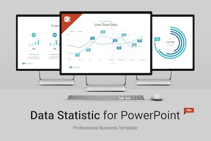 Data Statistic for PowerPoint