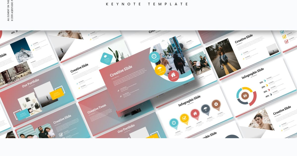 Download Rubino - Keynote Template by aqrstudio