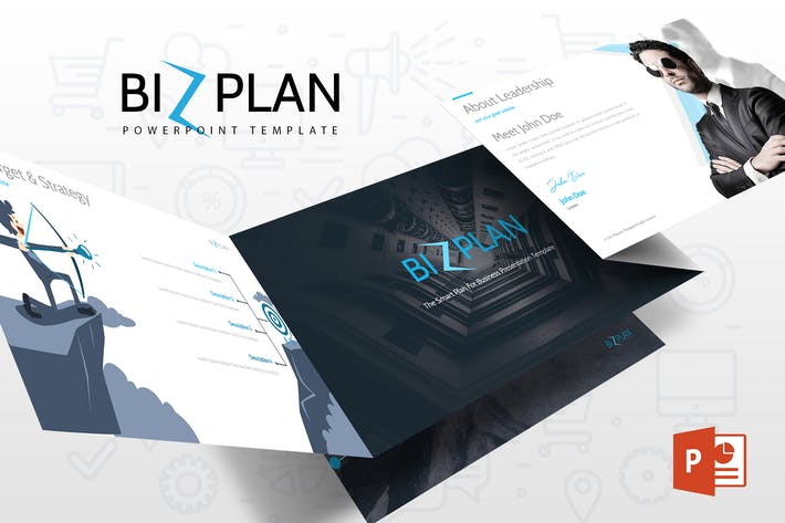 Thumbnail for Bizplan Powerpoint Template