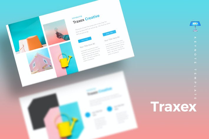 Thumbnail for Traxex - Keynote Template