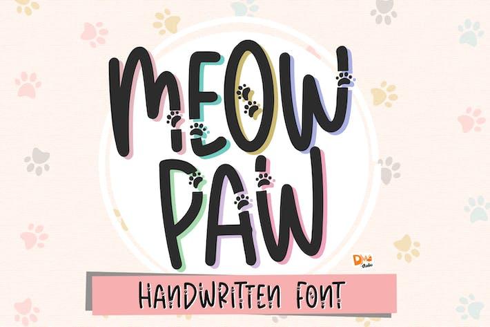 Miow Paw - Fuente de la pata de gato