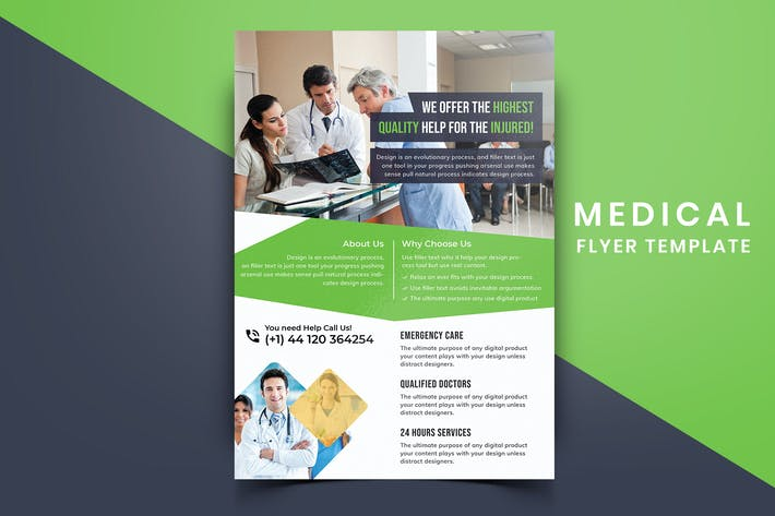 Cover Image For Medical Flyer Template-02