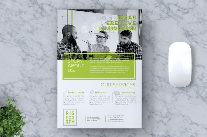 Thumbnail for Creative Unternehmens- Flyer Vol. 12