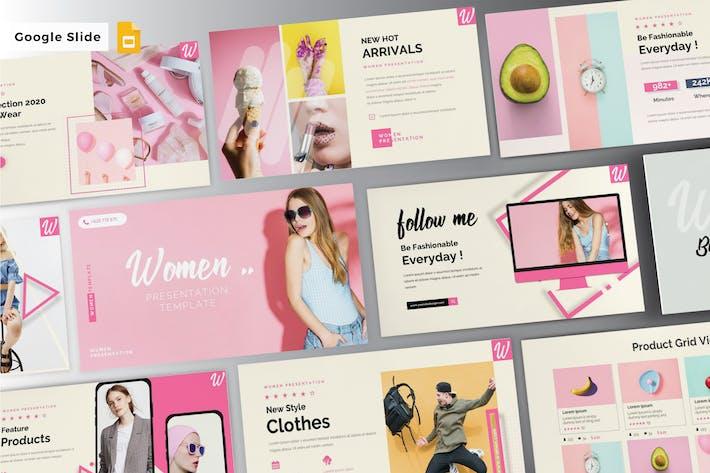 Thumbnail for WOMEN - Google Slide V282