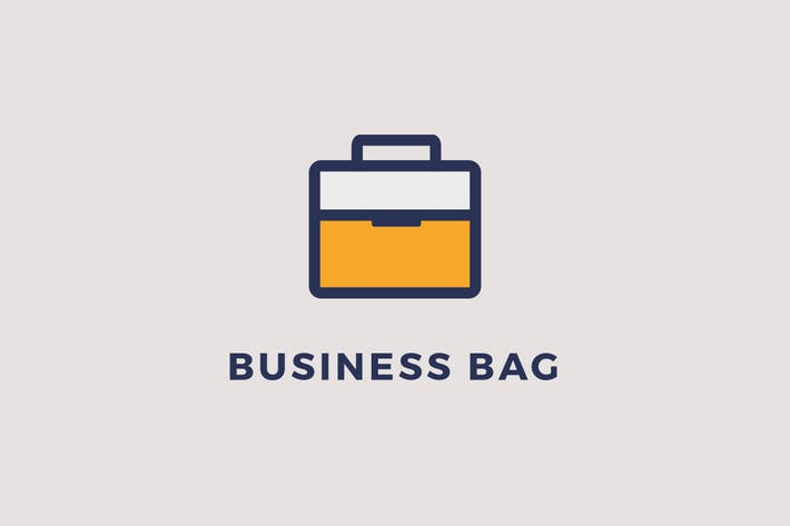 Thumbnail for Business Bag Logo Template