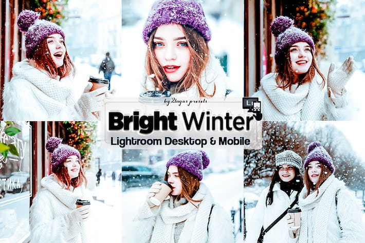Thumbnail for Bright Winter Lightroom Presets Mobile & Desktop