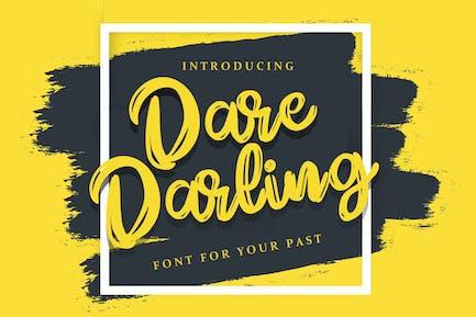 Dare Daling | Fuente Pincel Script