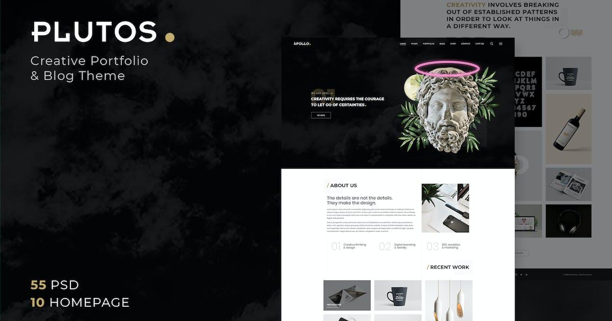 Download Plutos - Creative Portfolio & Blog Template by AuThemes
