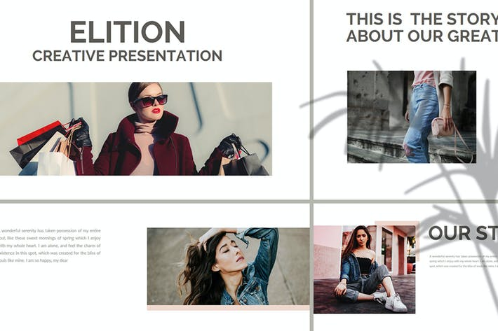 Thumbnail for Elition – Fashion Keynote Template
