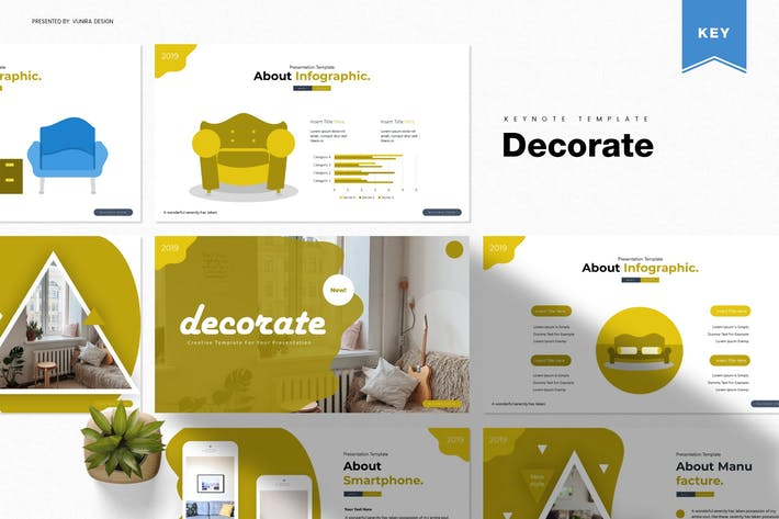 Thumbnail for Decorate | Keynote Template