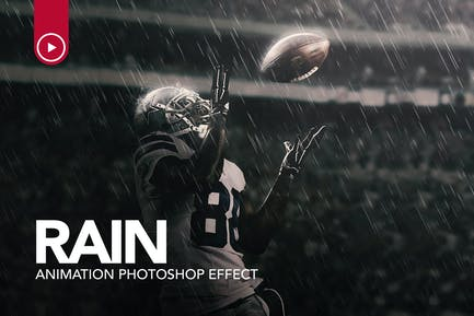 Rain Animation Photoshop Action