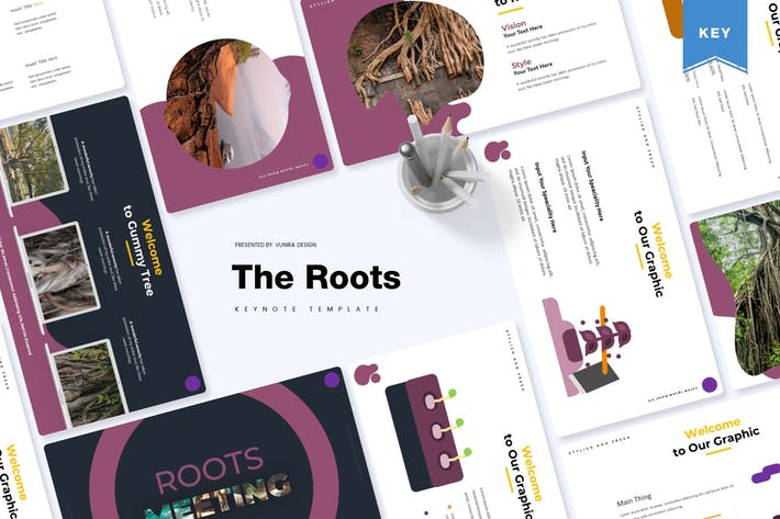 Thumbnail for The Roots | Keynote Template
