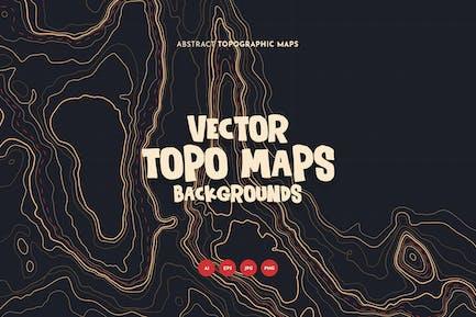 Fondos de mapas topográficos
