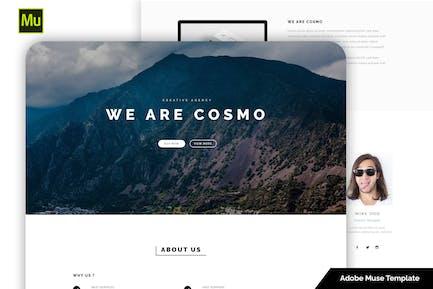 Cosmo - Creative Muse Template