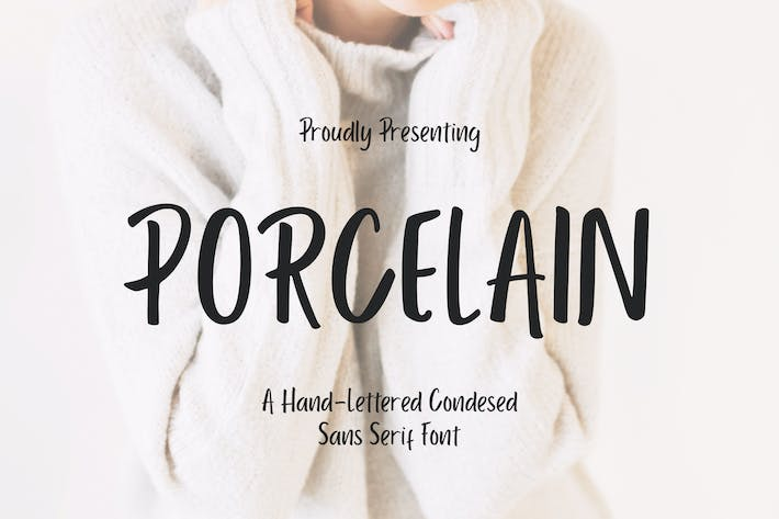 Thumbnail for Porcelain Sans Serif