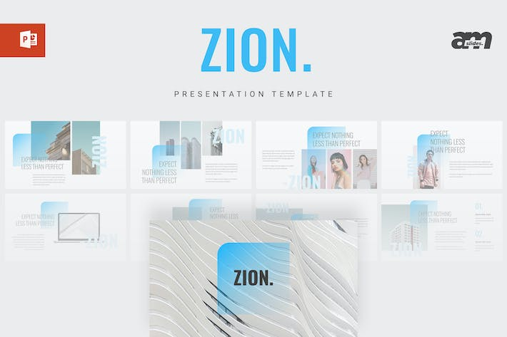 Thumbnail for Zion - Powerpoint Template