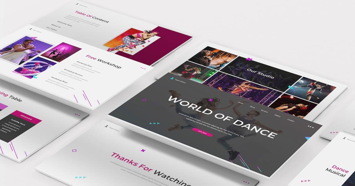 Download Dance Keynote Template by Formatika