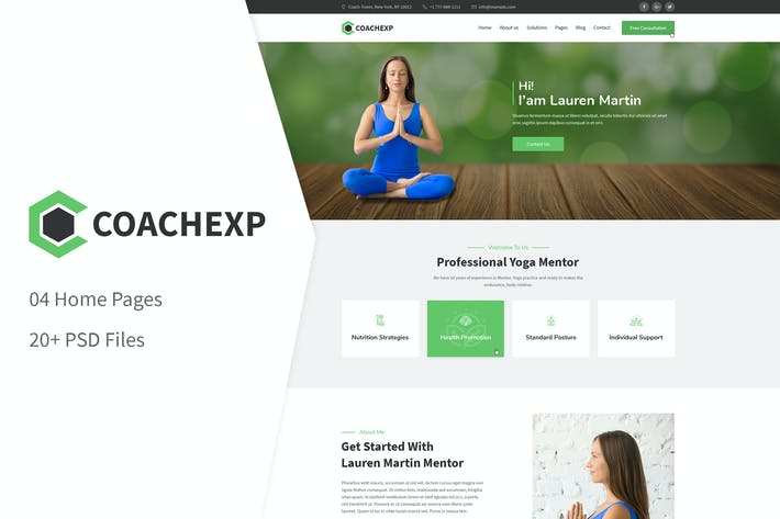 Thumbnail for Coachexp - Coach Yoga und Mentor