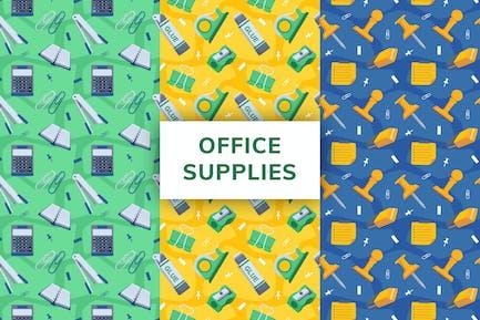 Office Supply Seamless Pattern