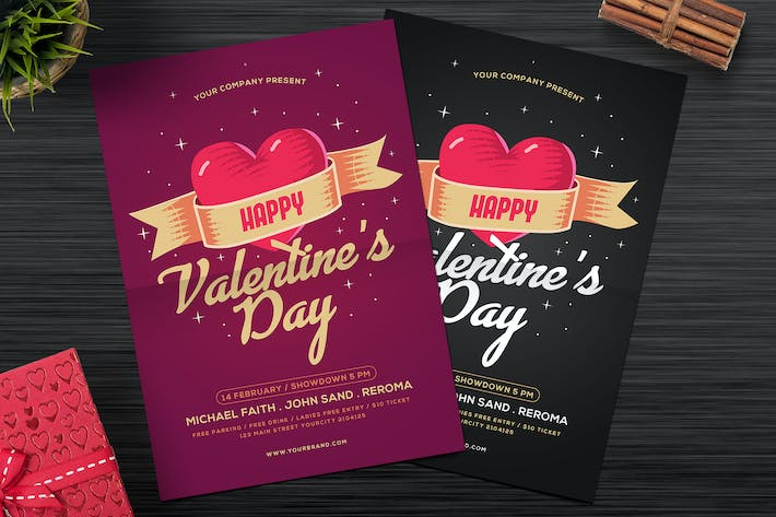 Cover Image For Modern Valentine Party