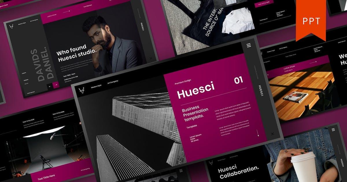 Download Huesci – Business PowerPoint Template by DensCreativeStudio