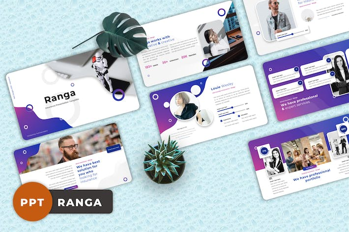 Ranga - Insurance Powerpoint Templates