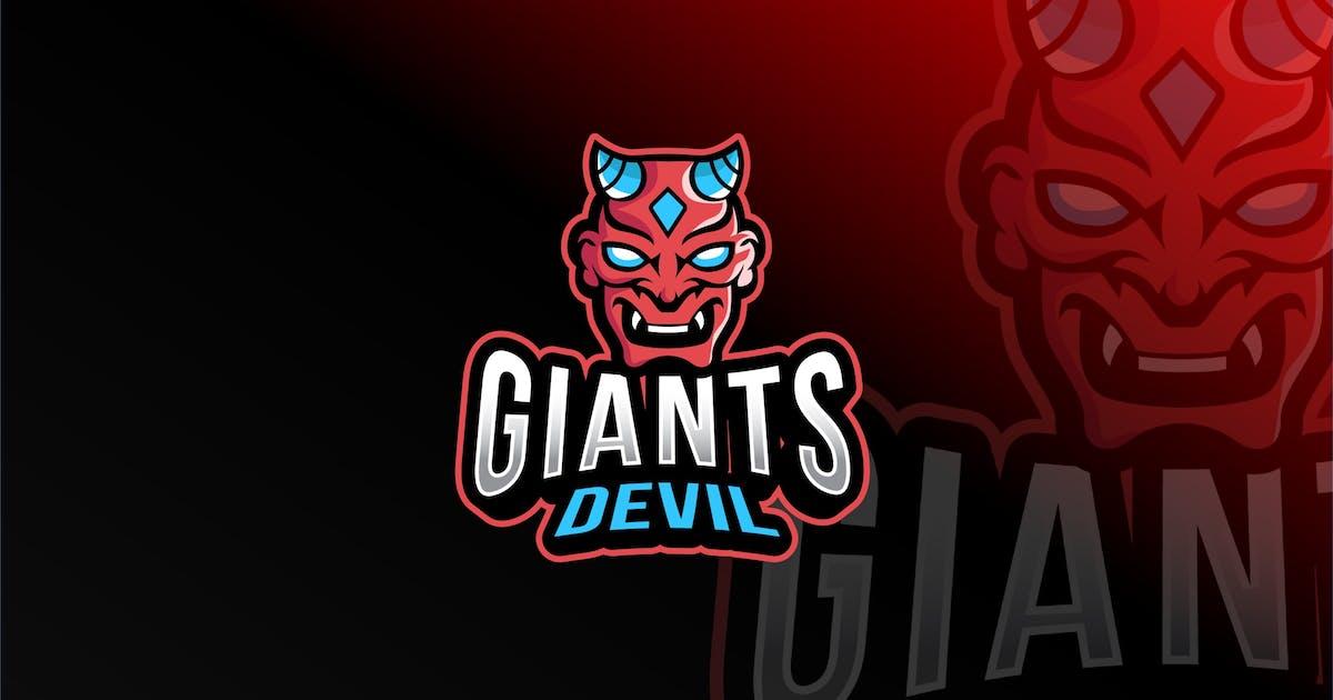 Download Giants Devil Esport Logo Template by IanMikraz
