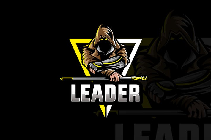 Thumbnail for Leader Squad logo & eSports Gaming Logo
