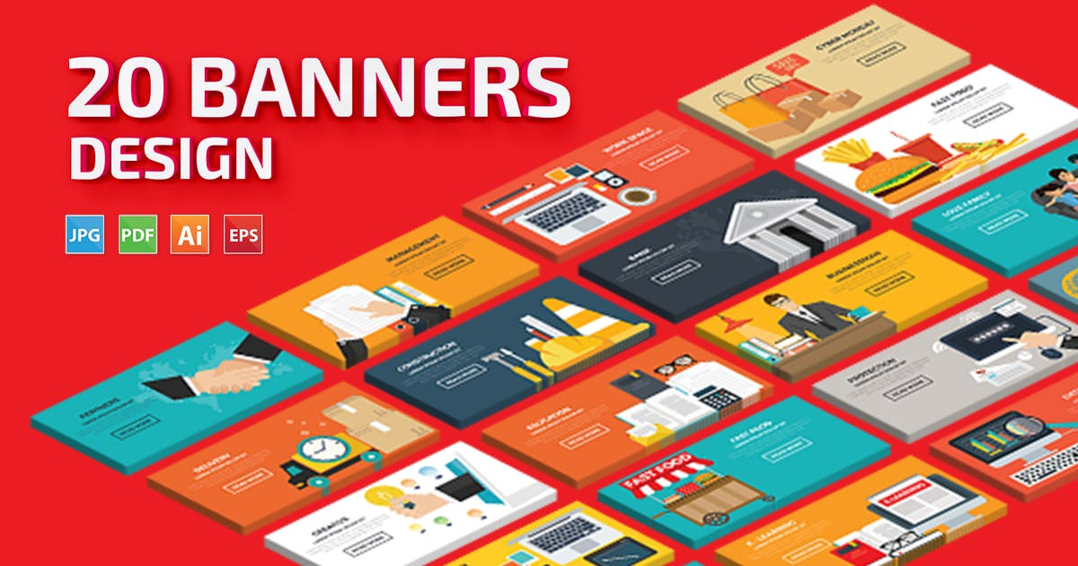 Download 20 Banners by mamanamsai
