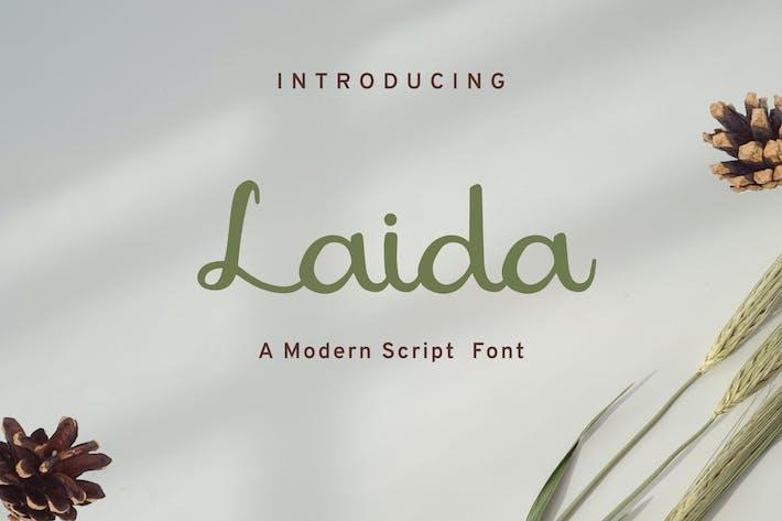 Thumbnail for Laida - Modern script