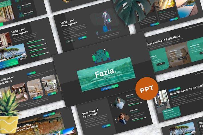 Thumbnail for Fazia - Hotel Powerpoint Templates