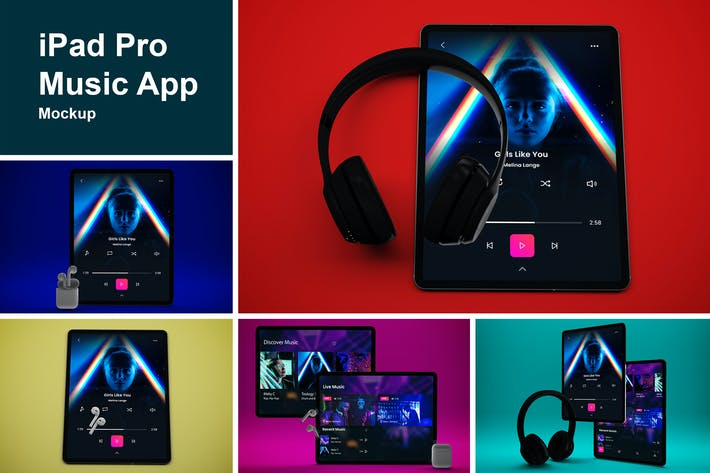 Thumbnail for iPad Pro Music App