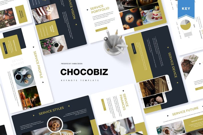 Thumbnail for Chocobiz  | Keynote Template