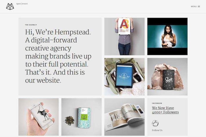 Thumbnail for Hempstead – Responsive Drupal Portfolio Template
