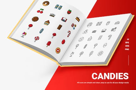 Candies - Icons