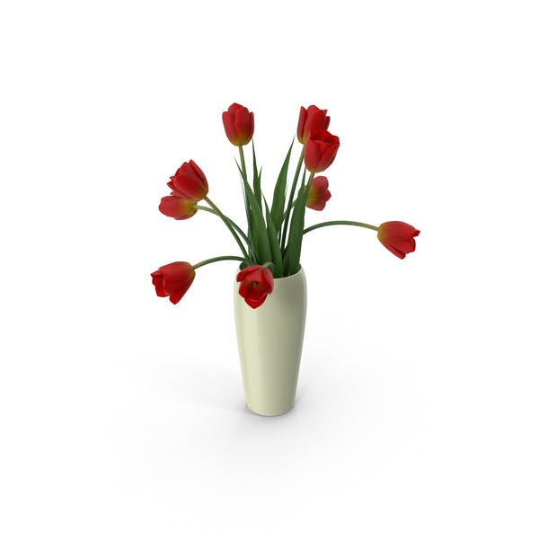Thumbnail for Tulips in a Vase
