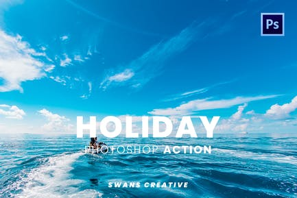Holiday Photoshop Action