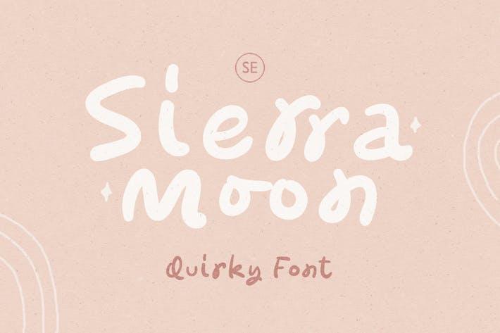 Sierra Moon - Fuente escrita a mano extravagante
