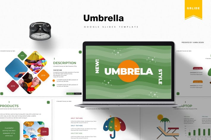 Thumbnail for Umbrella | Google Slides Template