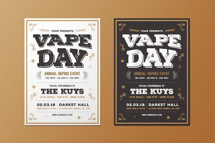 Thumbnail for Vape Vintage Flyer