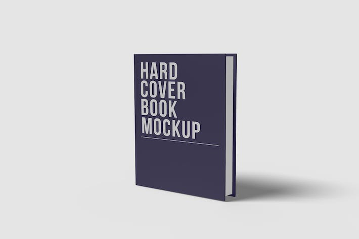 Thumbnail for A5 Hard Cover Book Mokcup