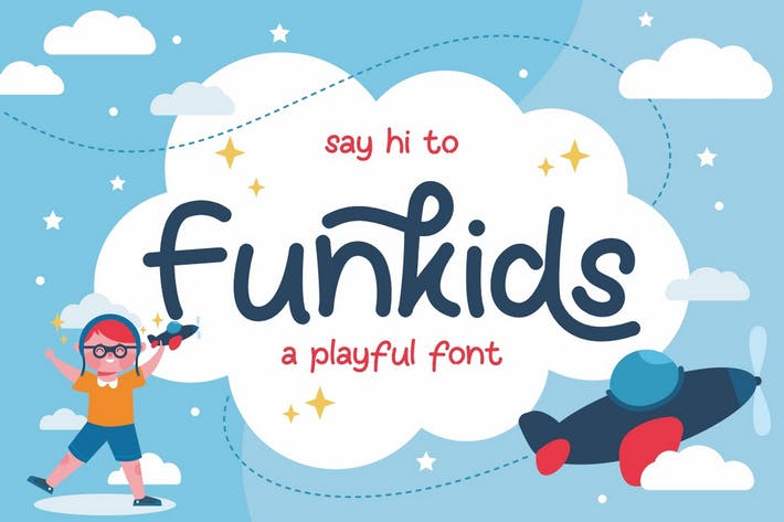 Thumbnail for Fun Kids - Font ludique