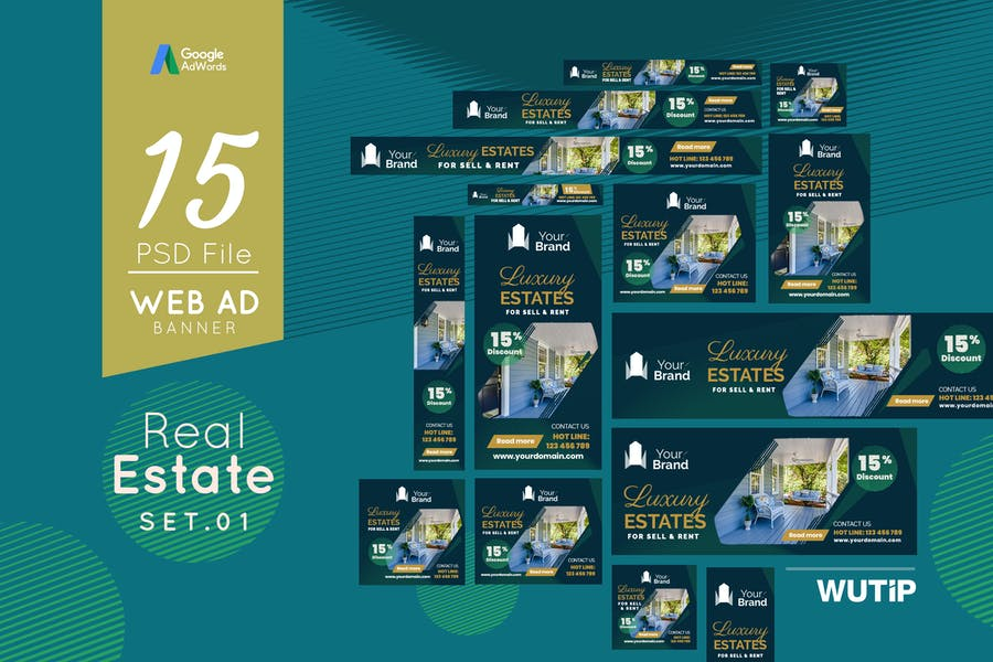 Web Ad Banners - Real Estate 01