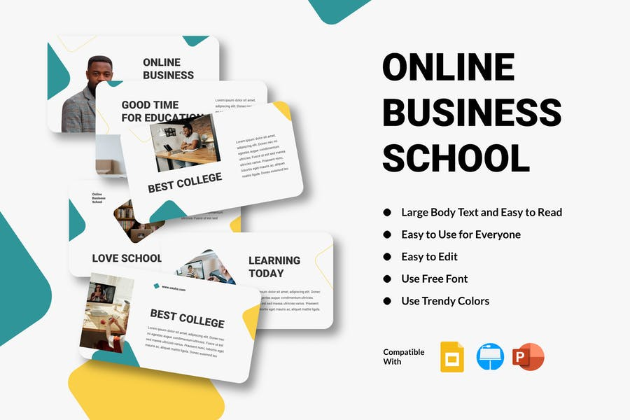 UXAHA - Online Business School Presentation