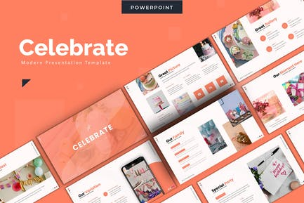 Celebrate - Powerpoint Template