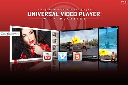 Universal Vídeo Player - WordPress Plugin