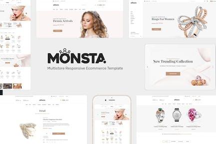 Monsta - Joyería WooCommerce WordPress Tema