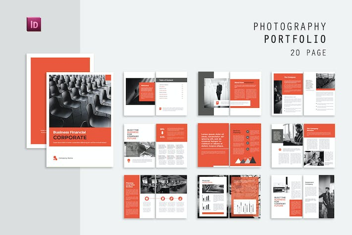 Thumbnail for Photography Corporate Magazine